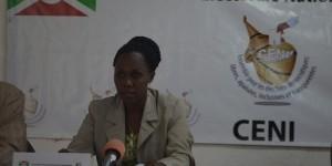 Annonciate Niyonkuru, vice-présidente de la CENI