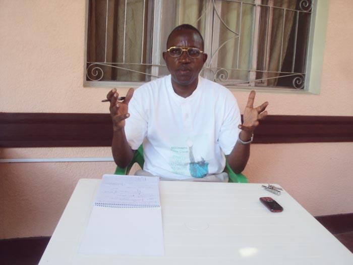 Antoine Icihagazeko Représentant régional de l'Aprodh à Bubanza