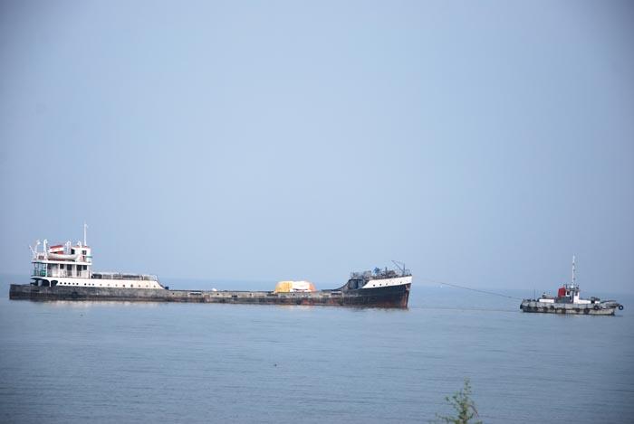 Un bateau  sur le lac Tanganyika ©Iwacu
