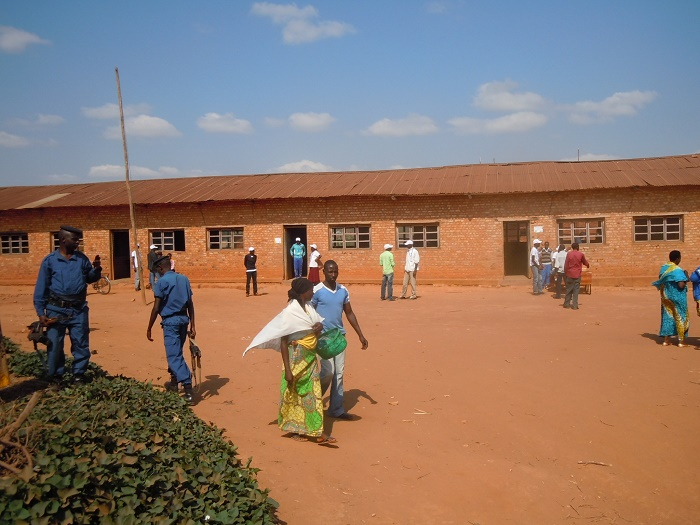 Centre de vote Magarama I ce matin à 9h40