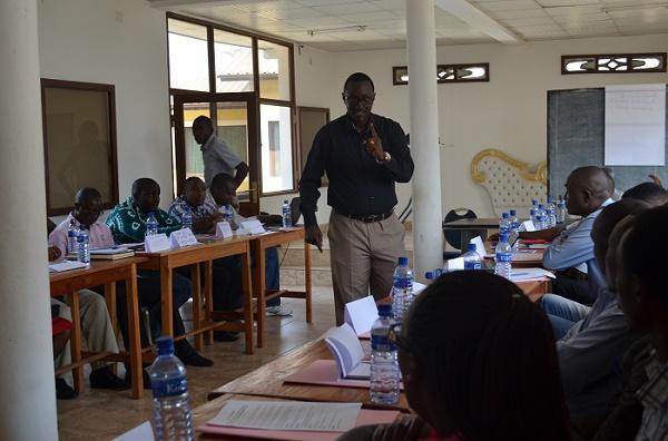 Me Emery Patrick Nshimirimana : « Comptez sur votre responsabilité individuelle et protégez-vous. »