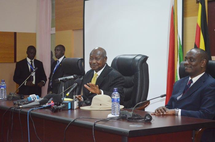 Le nouveau médiateur dans la crise burundaise, le président Ougandais Yoweri Kaguta Museveni