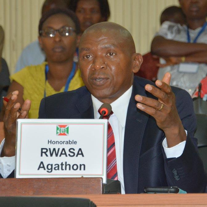 L'Hon. Agathon Rwasa