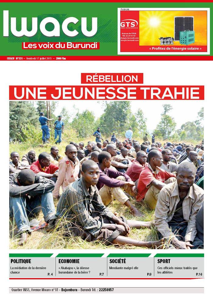 IWACU Hebdomadaire n°331