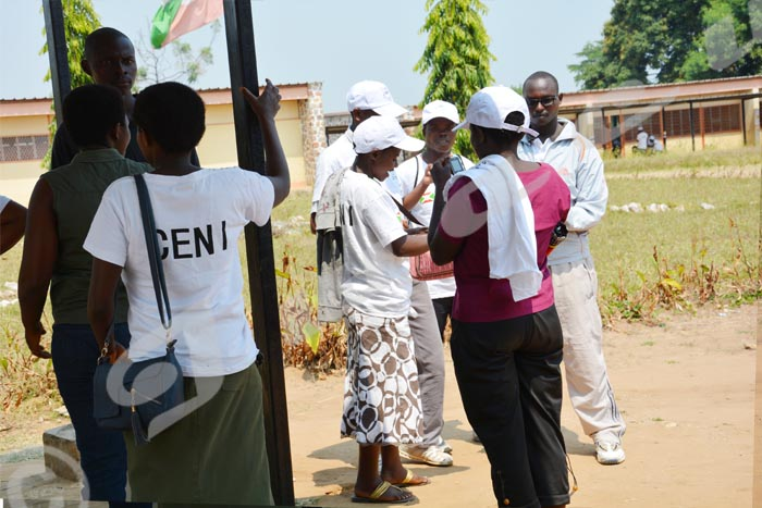 Irréguliers membres des bureaux de vote à Ngagara