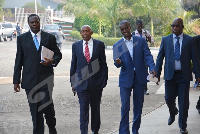 Lundi, 27 janvier 2015 - Arrivée surprise de Rwasa au palais des congrès de Kigobe ©O.N/Iwacu