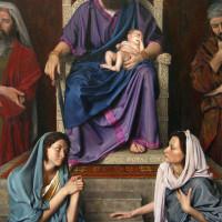 Salomon l'enfant et les deux rivales