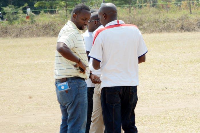 Bertrand Muheto (à gauche) a été embarqué par le SNR