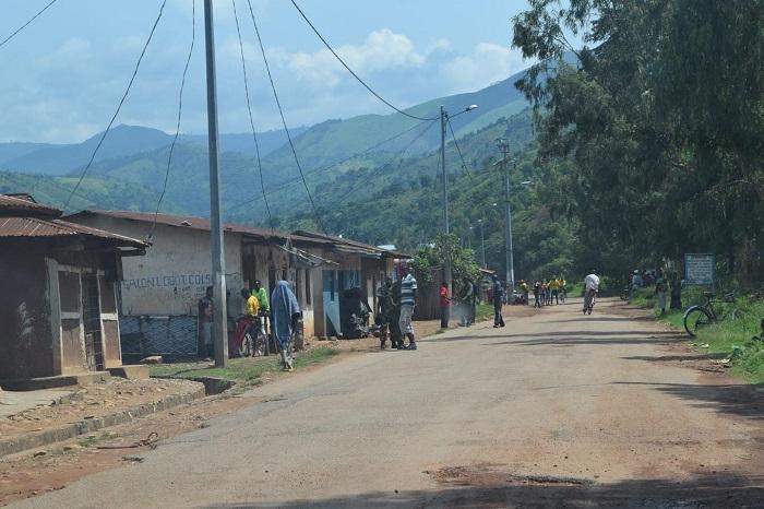 Localité de Rukambasi où de crépitements d'armes se sont faits entendre dans la matinée de samedi, 25 juillet 2015