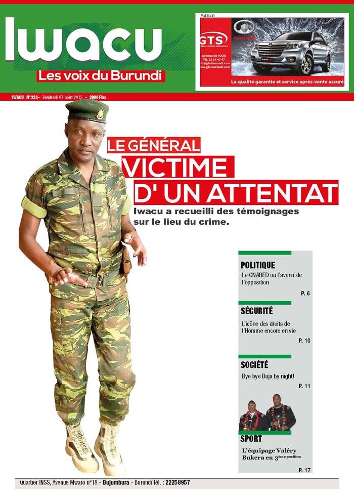 IWACU Hebdomadaire n°334
