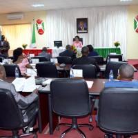 Première plénière du nouveau Sénat : la sénatrice Immaculée Ndabaneze préside la plénière
