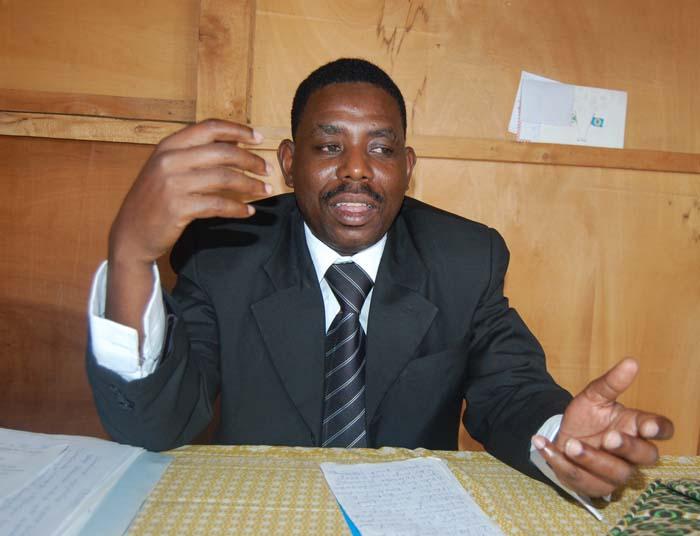 Vital Bambanze, aujourdh'ui à la tête de l'Association des Peuples autochtones d'Afrique centrale