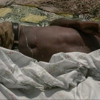 Le premier cadavre découvert dans la rivière Nyabagere