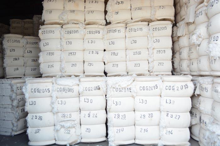Cogerco. Stocks du coton non encore vendu. ©Iwacu