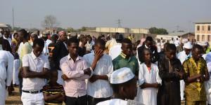 Nyakabiga: la fête de l'Aïd al-Kabir dérangée par la présence du premier vice-président