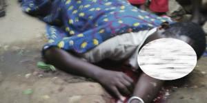 Le corps sans vie de Désiré Bikorimana