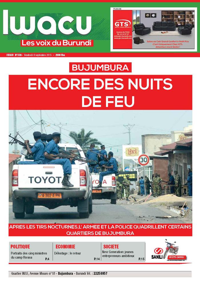 IWACU Hebdomadaire n°338