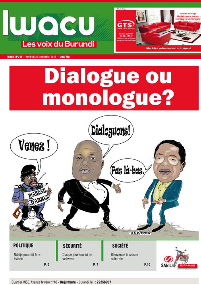 IWACU Hebdomadaire n°341