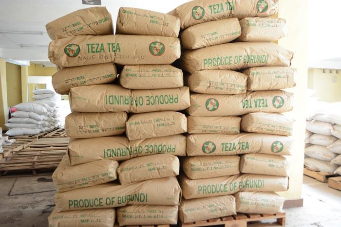 le stock du thé de l'OTB est rempli. ©Iwacu