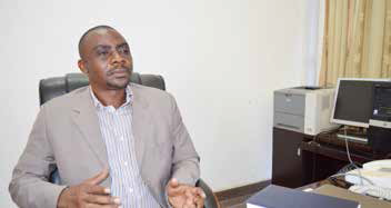 Désiré Nsengiyumva : « Pour servir tous les nouveaux quartiers il faut ajouter 1/5 de la production mensuelle (3.187.575 m3). »