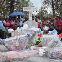 Enterrement de PascalNahimana,  gendre de Pierre Claver Mbonimpa
