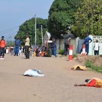 Les corps sans vie retrouvés  à  la 10ème avenue de la zone Cibitoke