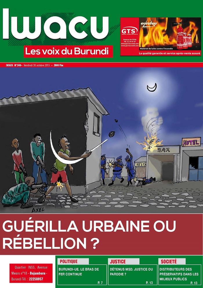 IWACU Hebdomadaire n°346