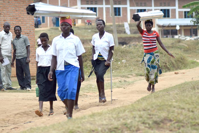 La jeunesse estudiantine de Nyabiraba