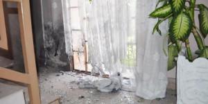 L'immeuble où habitent des prêtres a été attaqué