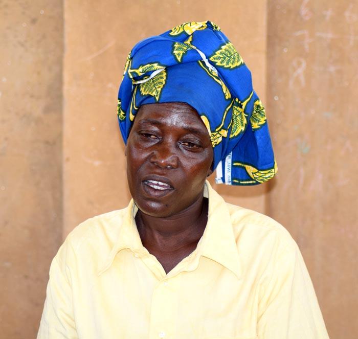 Médaillon - Gertrude Nzeyimana