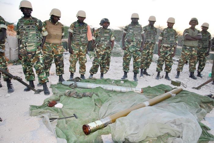 Des militaires qui rentrent de la République Centrafricaine dans la mission de maintien de la paix réclament des indemnités cumulées de 9 mois
