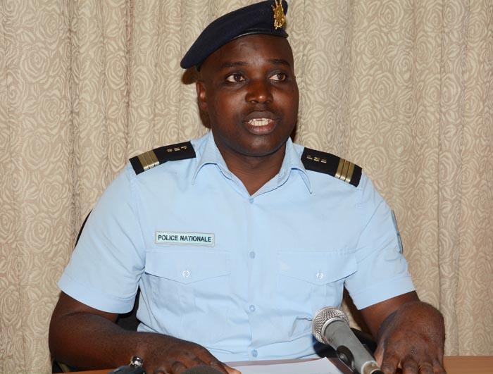 Pierre Nkurikiye, porte-parole de la police