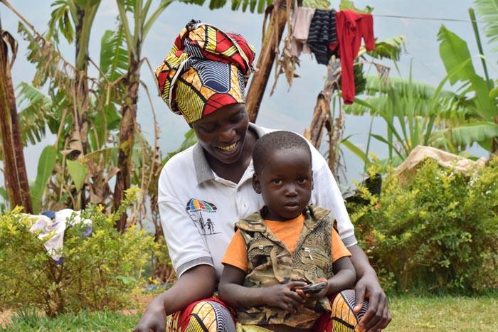 Gertrude Nzeyimana : « mon seul leitmotiv : le bien de mon prochain. »