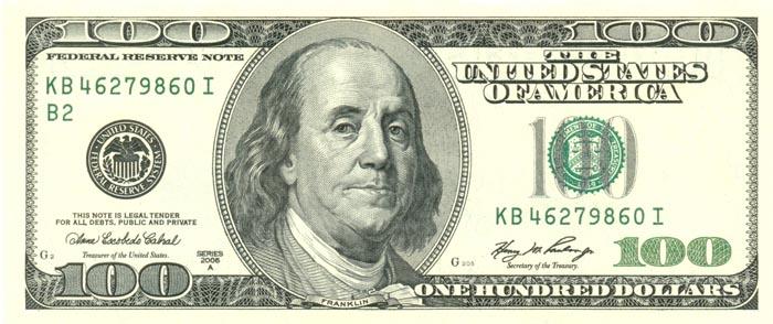 Usdollar100