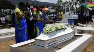 La tombe de Charlotte Umurwaneza
