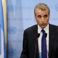 L'ambassadeur adjoint de la France auprès des Nations Unies, Alexis Lamek