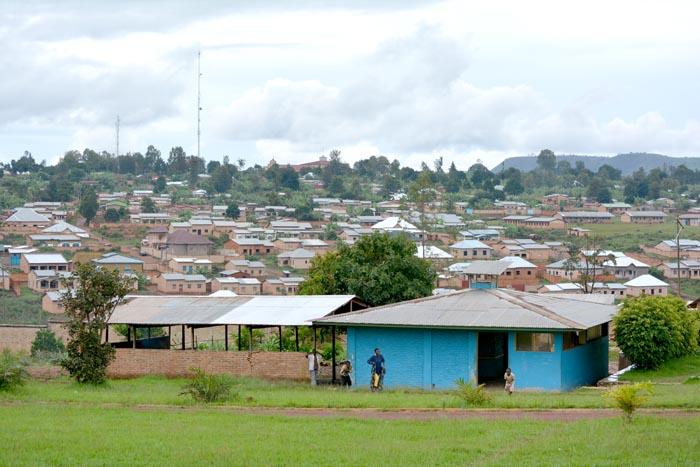 Vue partielle de la ville de Ruyigi