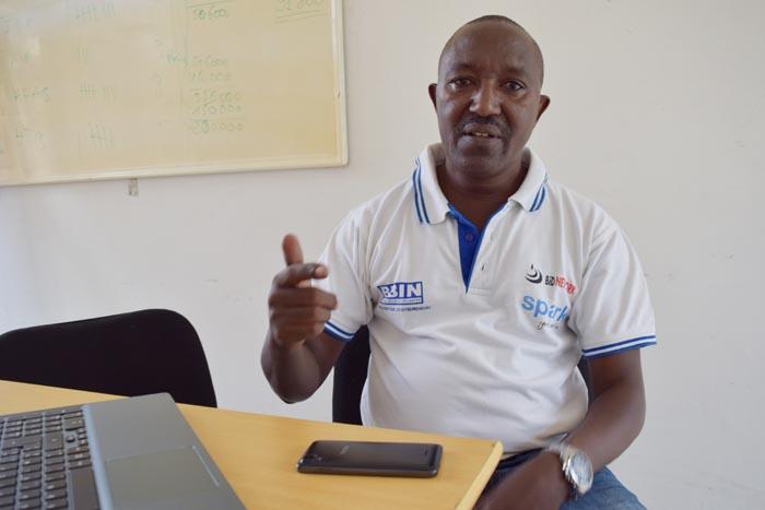 M. Nduwimana : « La BBIN affirme vouloir appuyer les apiculteurs entre autres de la province de Cibitoke pour les aider à surmonter les difficultés. »