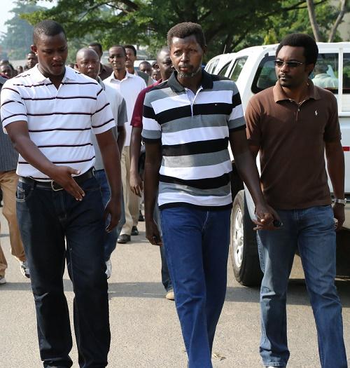 Alexandre Niyungeko, Innocent Muhozi et Eric Manirakiza ouvrent une marche
