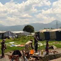 Site de Carama I: misère noire des déplacés