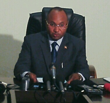 Le ministre Alain Guillaume Bunyoni : « Ces sanctions sont une supercherie ».