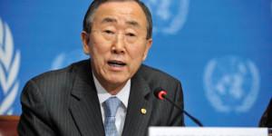 Ban Ki-moon: « Réviser le mandat de la présence de l'ONU en fonction de l'évolution de la situation ».
