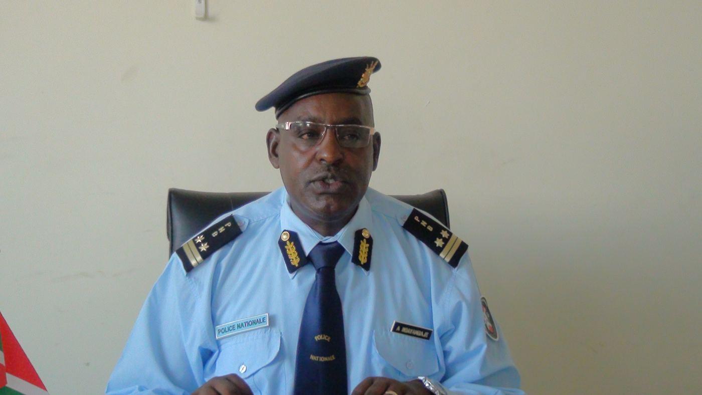 CPP André Ndayambaje : «7898 produits pharmaceutiques illicites et contrefaits ont été saisis.»