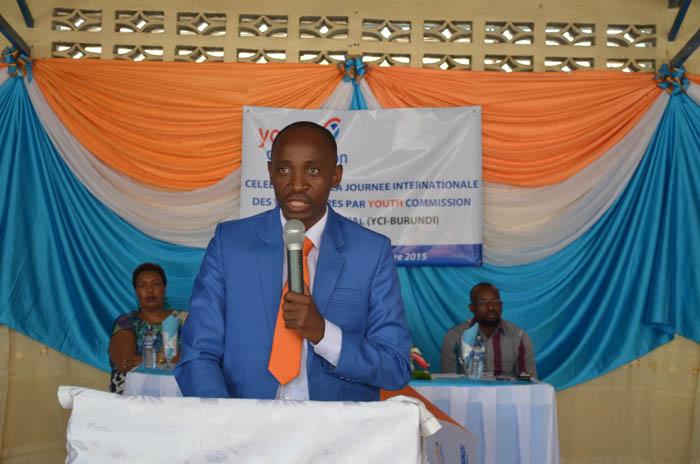 David Manirampa : « L'octroi de petits crédits est notre modeste contribution dans la lutte contre le chômage. »