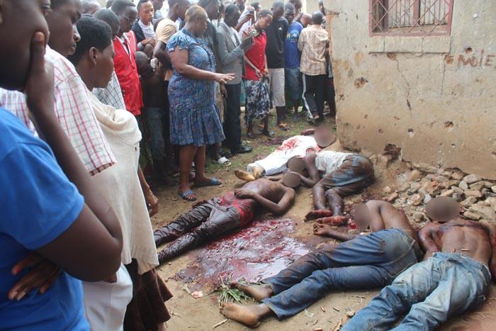 Cinq cadavres à Mutakura