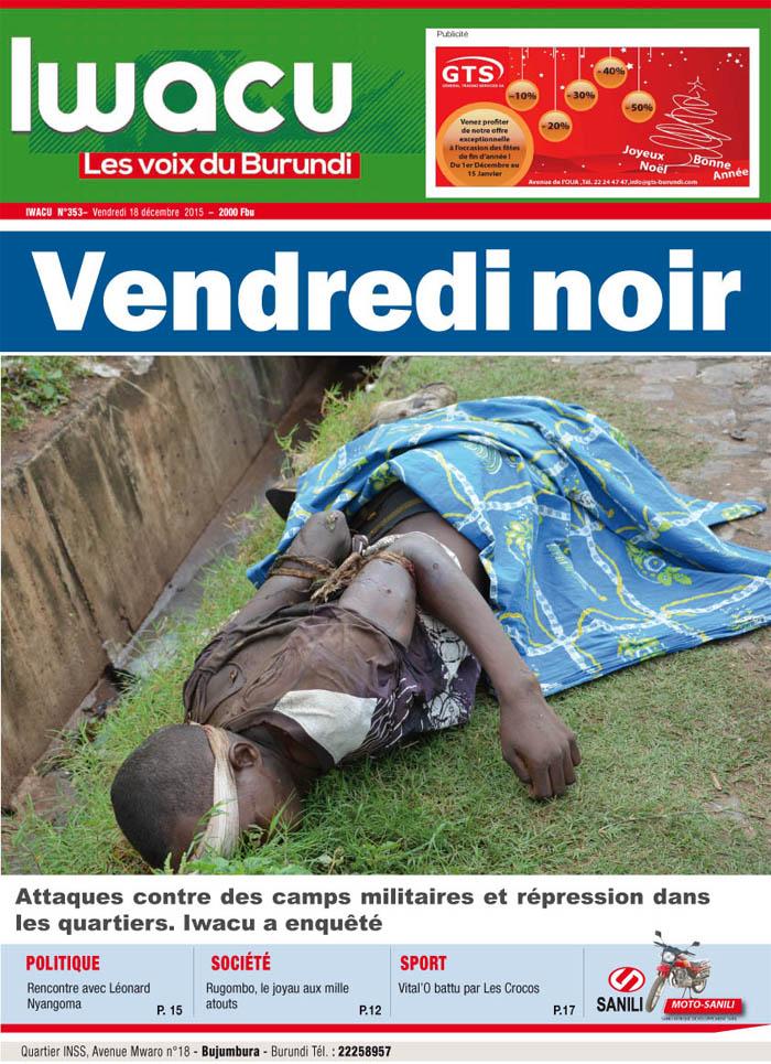 IWACU Hebdomadaire n°353