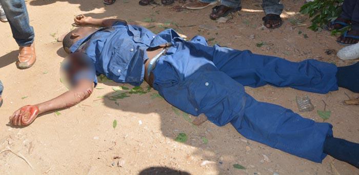 policier tué