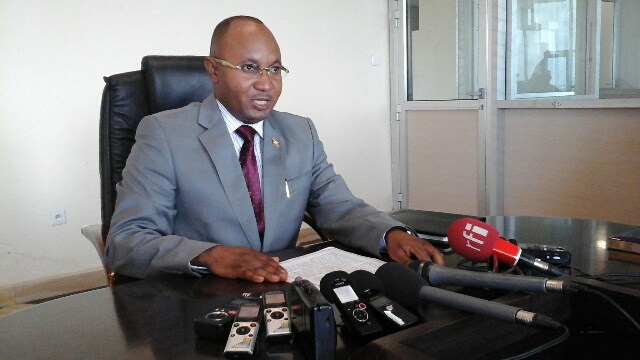 Le ministre Bunyoni