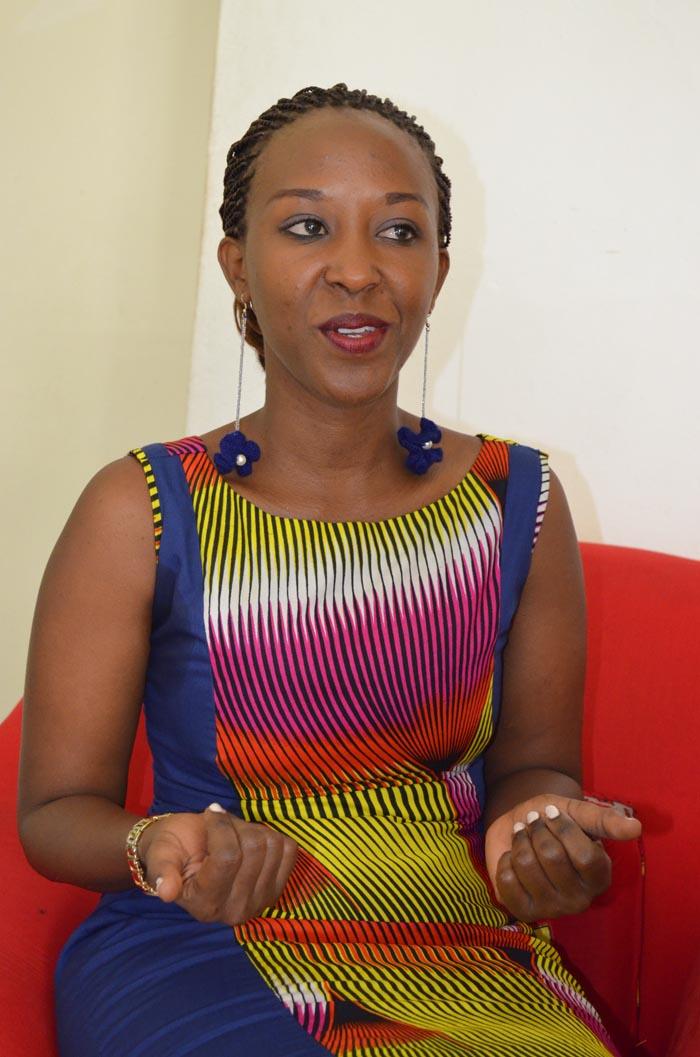 Aimée Ntukamazina : « j'ai eu de la chance d'apprendre beaucoup des choses sur l'artisanat. »