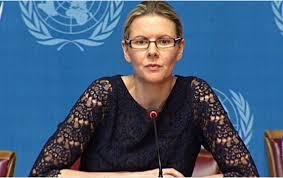 Cécile Pouilly, porte-parole du HCDH